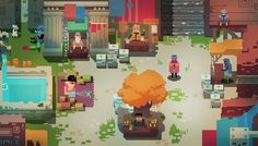 Hyper Light Drifter combat video shows more pretty pixel animation