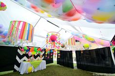 Neon Party Decor