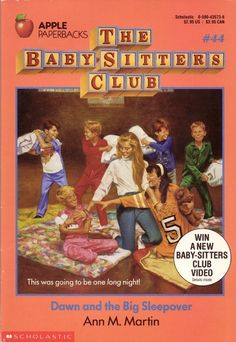 Dawn and the Big Sleepover (Baby-Sitters Club, When a group of children learns that fire destroyed their pen pals' school, thirteen-year-old Dawn organizes a fundraiser and then rewards the contributors with a sleepover. Archie Comics, Babysitters Club Books, The Baby Sitters Club, Friend Book, Fandoms, Beautiful Book Covers, Kids Tv, Mickey And Friends, Chapter Books