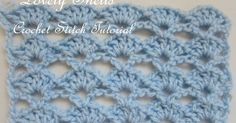One of the readers, a beginner crocheter, asked for help with the stitch that I used for my Lovely Shells Baby Blanket . So...