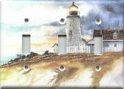 Lighthouse Triple Light Switch Plate Cover 201