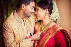 beaut couple, simple and string thali