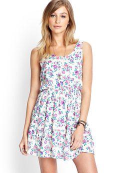Floral Tie-Back Dress | FOREVER21 #SummerForever