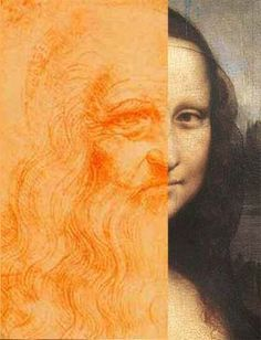 The Mona Lisa / La Gioconda - no one really knows who she is.  Does the Mona Lisa actually show Da Vinci's own face?