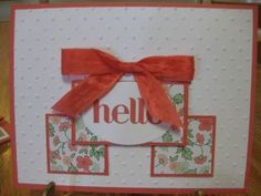 """One Sheet Wonder Technique; Gold Soiree Specialty Designer Series Paper; Four You Stamp Set; Calypso Coral 1/2"""" Seam Binding Ribbon; Perfect Polka Dots Textured Impressions Embossing Folder; Extra Large Oval Punch"""