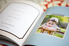 Father's Day gift idea - photo book filled with questions that the kids answer about their daddy