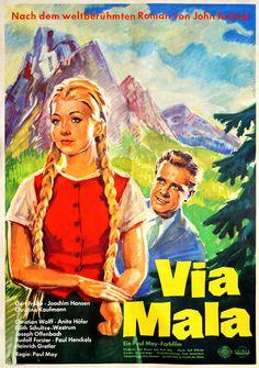 Poster zum Film: Via Mala. 1961