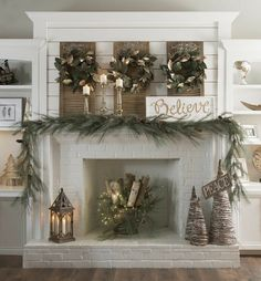 Farmhouse mantle decor above fireplace decor farmhouse mantel decor and design fireplace decoration with names farmhouse . Christmas Mantels, Rustic Christmas, Christmas Home, Christmas Holidays, Christmas Wreaths, Christmas Crafts, Vintage Christmas, Christmas Ideas, Christmas Fireplace Decorations