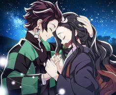 Nezuko with her Big Bro Otaku Anime, Fan Anime, I Love Anime, Anime Naruto, Demon Slayer, Slayer Anime, Another Misaki Mei, Familia Anime, Love Illustration