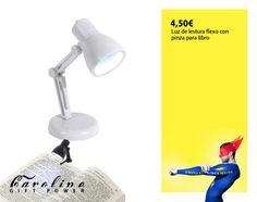 Mini lampara de led. Disponible en Cirilo Amorós 24 y Cádiz 25 VLC.