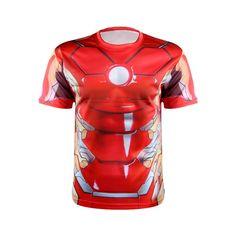 Marvel Super Heroes Avenger Printed T-Shirts T shirt Men Compression Armour Base Layer Thermal Under fitness Shirt Superman T Shirt, Batman, Compression T Shirt, Shirt Price, Workout Shirts, Mens Fitness, Superhero, 3d, Free Shipping