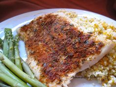 We love fish this way. I normally use haddock loins but I have also used tilapia and cod.