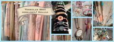 Nieuwe shawls, sieraden en tassen, voorjaar 2015