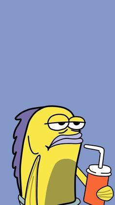 Cartoon Gesicht Tapete SpongeBob Visit the post for more. Funny Lockscreen, Cartoon Wallpaper Iphone, Mood Wallpaper, Iphone Background Wallpaper, Cute Cartoon Wallpapers, Disney Wallpaper, Wallpaper Spongebob, Plant Wallpaper, Lock Screen Wallpaper Funny