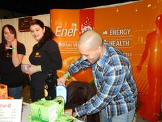 @C Ener pouring up some nutrition!
