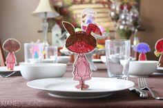 Easter Children's Craft - Easter Place Cards - www.missprissandme.com