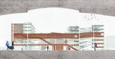   ABATTOIR   facade design  by Laurens HERREMAN