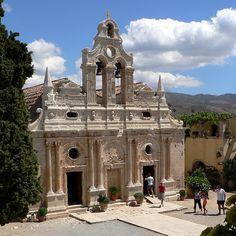 Arkadi+Monastery ,Rethymno ,Crete
