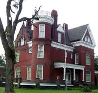 Barnesville, Ohio Victorian Mansion Museum