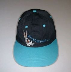 Vintage 90s Looney Tunes Bugs Bunny Whatever Hat Cap Stretch Fit Adult Size