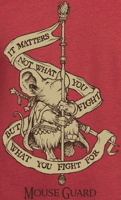 Image of Mouse Guard Banner Tee