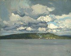 MacDonald (English-born), Sawmill, Lake Cecebe, Magnetawan River, c. 1912 (Group of Seven) Canada Landscape, Landscape Art, Landscape Paintings, Tom Thomson, Emily Carr, Canadian Painters, Canadian Artists, Art Inuit, Group Of Seven