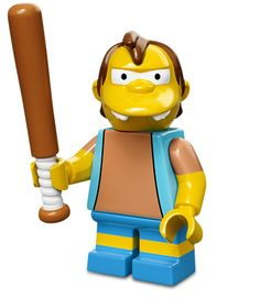 Lego have announced today the set of 16 Simpsons minifigures featuring most of the popular characters from the cult series. Lego had previously released the Simpsons House Set that includes 6 minifigures, but now you will be able to purchase all 16 m Minifigura Lego, Lego Man, Lego Ninjago, Simpsons Lego, Krusty The Clown, Simpsons Characters, Lego Minifigs, Homer Simpson, Custom Lego