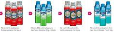 Kit com 3 Desodorantes Gillette ou Old Spice << R$ 1790 >>