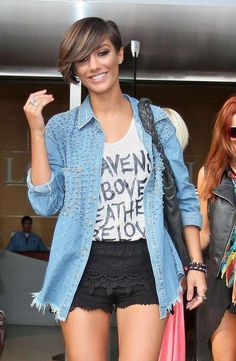 Frankie Sandford...love her style. If only I could pull it off