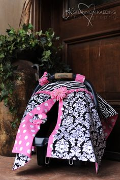 carseat cover - so cute
