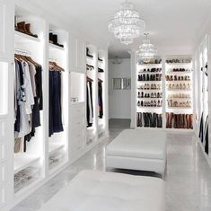 10 Luxury Walk-in Closet Design Ideas That Will Make Your Jaw Drop Walk In Closet Design, Bedroom Closet Design, Master Bedroom Closet, Closet Designs, Master Bathroom, Luxury Wardrobe, Luxury Closet, Wardrobe Room, Beautiful Closets