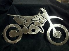 Metal Dirt Bike by Motojunkies on Etsy, $35.00