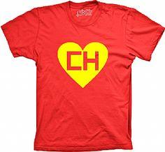 Camiseta CH - Chapolin Colorado - Com suas antenas e marreta biônica ele poderá lhe ajudar!