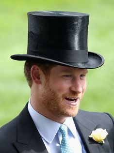 Prince Harry Photos Photos - Prince Harry in the parade ring at Royal Ascot 2016 at Ascot Racecourse on June 14, 2016 in Ascot, England. - Royal Ascot - Day 1