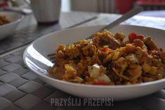 Ryż z warzywami i piersią z kurczaka Grains, Curry, Food, Curries, Essen, Meals, Seeds, Yemek, Eten