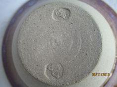 Alan Baxter & Vivienne Hills Pontardawe Pottery - bird mark Pp mark