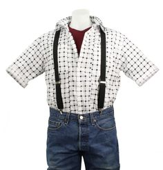 Adult Men/'s Marty McFly Back to the Future Halloween Costume Puffer Vest M L XL