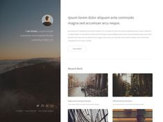Awesome Templates to Create your Personal Website 2018 Free Html Templates, Template Site, Responsive Site, Free Personals, Resume, Design, Grief, Job Resume, Resume Cv