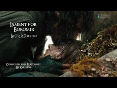 """Karliene Reynolds records Tolkien's """"Lament for Boromir"""" — Middle-earth News Fun To Be One, Are You The One, My Chemical Romance Songs, Hobbit Dwarves, Funeral Songs, Hollywood Undead, Earth News, Dark Lord, Lord Of The Rings"""