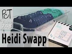 Organizing My Heidi Swapp Lightbox Accessories