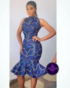 2019 Creative Ankara Gown Styles for Beautiful Ladies - Naija's Daily African Fashion Ankara, African Print Fashion, Africa Fashion, African Wear, African Attire, African Dress, Kente Styles, Ankara Gown Styles, Fashion Fabric