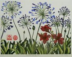 elizabeth blackadder lilies - Google Search Illustration Blume, Botanical Illustration, Blackadder, Agapanthus, Irish Art, Elisabeth, A Level Art, Botanical Prints, Painting & Drawing