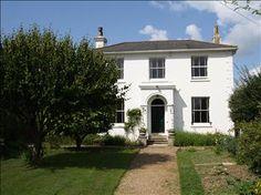 Beautiful white Georgian house...