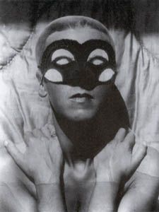 """Claude Cahun """"Autoportrait"""" (1929)  Surrealism. Issues of identity, under mask there is no identity."""