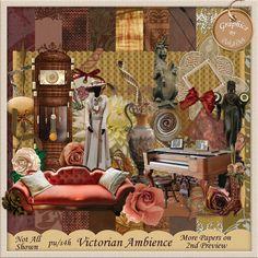 Victorian Ambience Scrap Kit