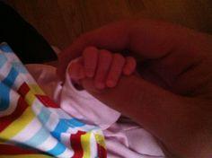 Kristina holding Nastya's hand ... CUTE))
