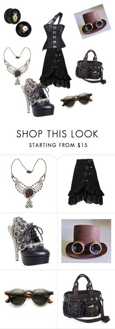 """""""Untitled #1271"""" by shannongarner ❤ liked on Polyvore featuring HADES and ZeroUV"""