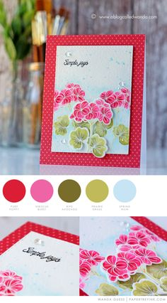 Simple Joys by Wanda Guess for Papertrey Ink