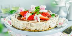 Pudding Desserts, Strawberry Recipes, Baked Goods, Camembert Cheese, Nom Nom, Sweet Tooth, Cheesecake, Food And Drink, Baking