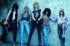 Izzy Stradlin Steven Adler Duff Mckagan Slash Axl Rose